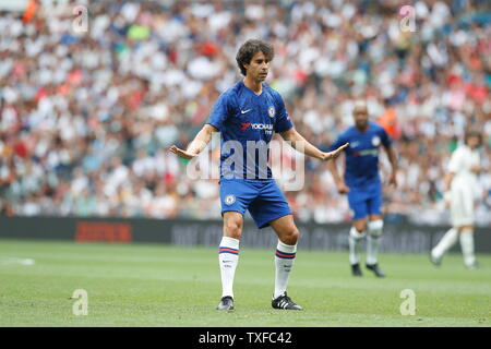 Madrid, Spain. 23rd June, 2019. Tiago Mendes (Chelsea) Football/Soccer : Friendly 'Corazon Classic Match 2019' between Real Madrid Leyendas 5-4 Chelsea Legends at the Santiago Bernabeu Stadium in Madrid, Spain . Credit: Mutsu Kawamori/AFLO/Alamy Live News - Stock Image