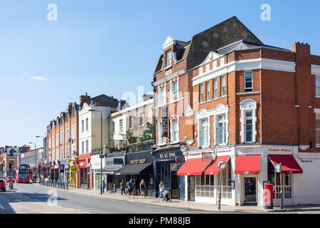 Putney High Street, Putney, London Borough of Wandsworth, Greater London, England, United Kingdom - Stock Image