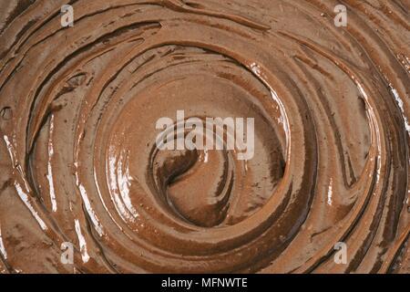 Close-up of chocolate mix. Studio shot.       Ref: CRB538_103609_0026  COMPULSORY CREDIT: Martin Harvey / Photoshot - Stock Image