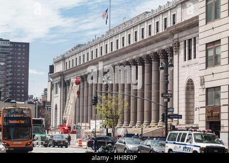 James A. Farley Post Office Building New York City - Stock Image