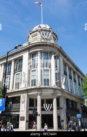 Whiteleys Centre, Queensway, Bayswater, City of Westminster, Greater London, England, United Kingdom - Stock Image