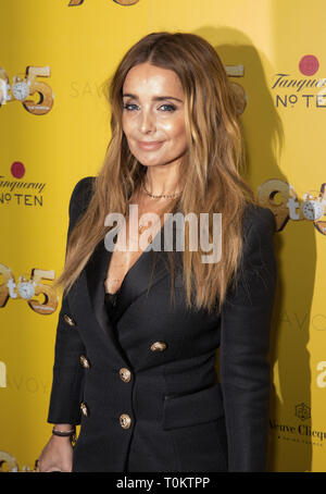 Celebs attend gala evening for Dolly Parton's 9 to 5 The Musical  Featuring: Louise Redknapp Where: London, United Kingdom When: 17 Feb 2019 Credit: Phil Lewis/WENN.com - Stock Image