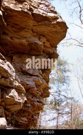 Rock Cliff - Stock Image