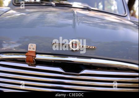 Morris Mini Cooper S, a classic British motor car. - Stock Image