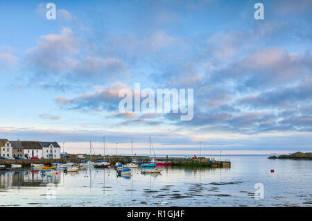 Isle of Whithorn in The Machars region of Wigtownshire, Dumfries and Galloway, Scotland - Stock Image