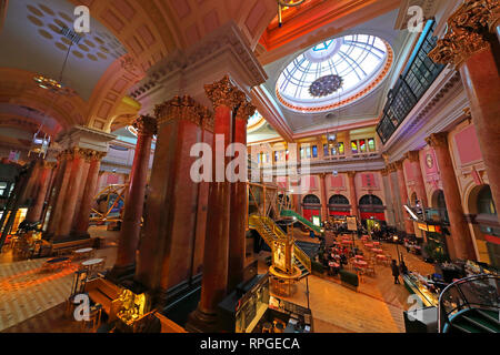 Royal Exchange theatre, St Anns Sq, Manchester, England, UK,  M2 7DH - Stock Image
