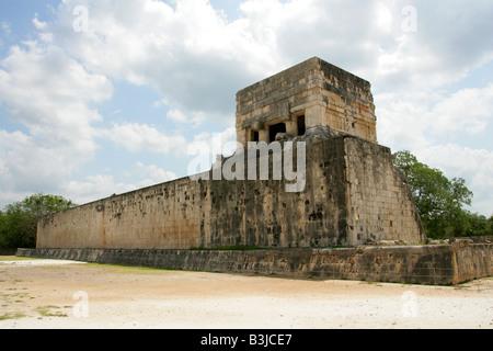 Great Ballcourt, Juego Pelota, Chichen Itza, Yucatan Peninsular, Mexico - Stock Image