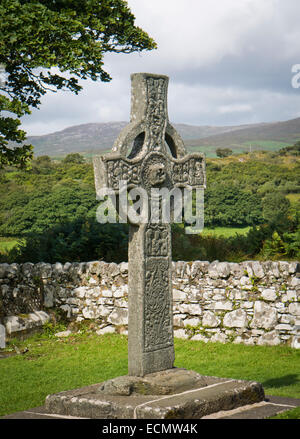 The Kidalton High Cross Islay Scotland - Stock Image