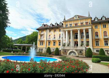 Grand Hotel Imperial Levico Terme - Stock Image