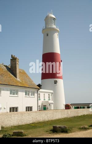 Portland Bill Lighthouse, Dorset, UK. - Stock Image
