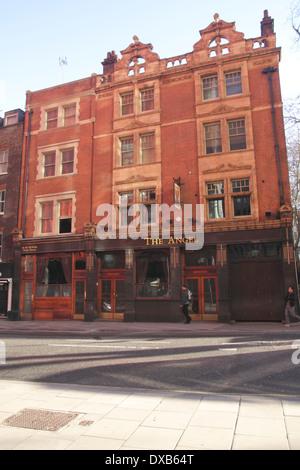 The Angel Pub St Giles High Street London - Stock Image