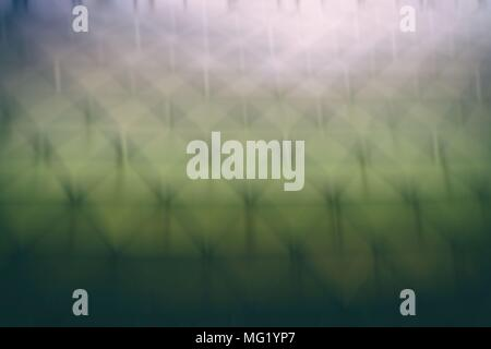 Blurred  Abstract Polygon Architecture Background. - Stock Image