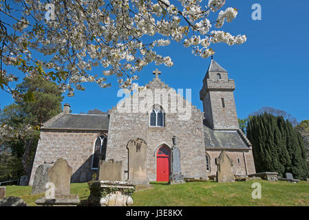 Cawdor village near Nairn,  Grampian Region. North East. Scotland. - Stock Image