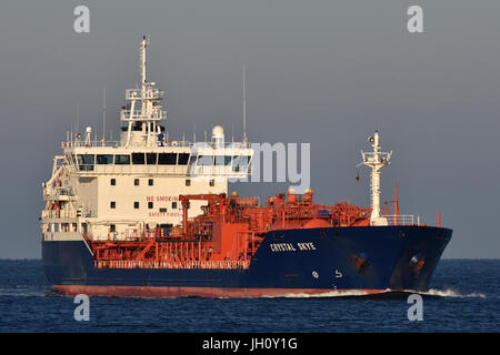 Chemical Products Tanker Crystal Skye - Stock Image