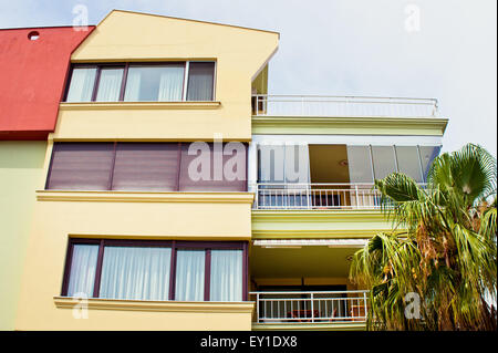 Modern apartment buildings in Turkey - Stock Image