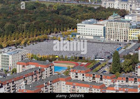 Berlin Holocaust Memorial - Stock Image