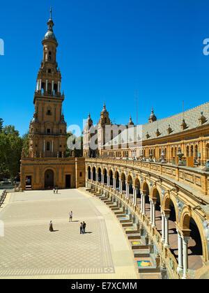 Public Square Plaza de Espana - Stock Image