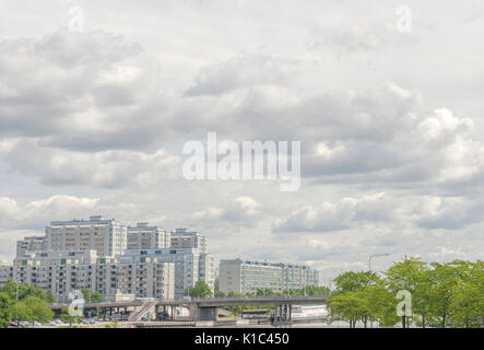 Modern residential buildings in Helsinki, Finland - Stock Image