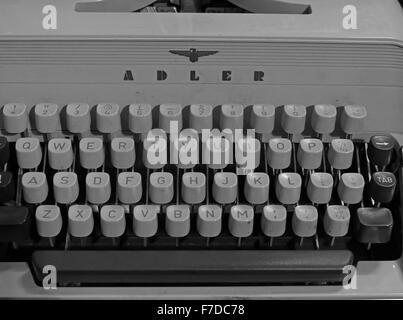 Antique Triumph Adler Gabriele20 mechanical typewriter - Stock Image