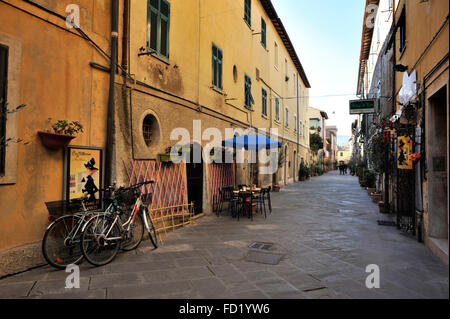 italy, tuscany, orbetello, old town - Stock Image