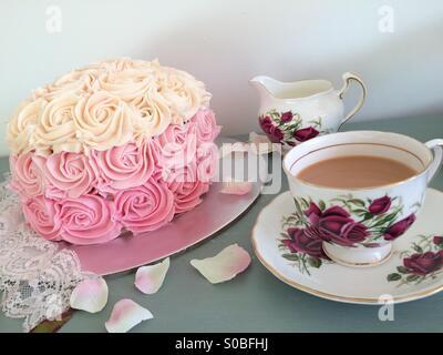 Afternoon Tea - Stock Image