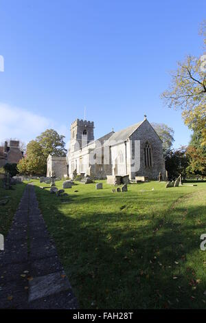 St George's Church Ogbourne St George Wiltshire England - Stock Image