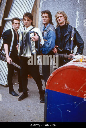 Bond, Musikgruppe, Deutschland ca. 1985. German band 'Bond', Germany ca. 1985. - Stock Image