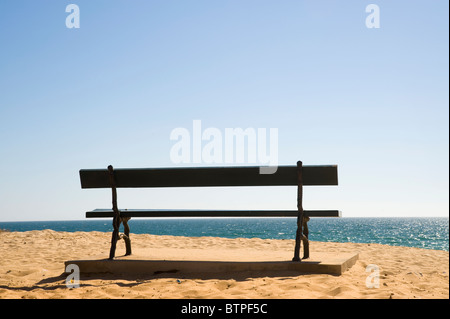 Faro Beach, Algarve, Portugal - Stock Image
