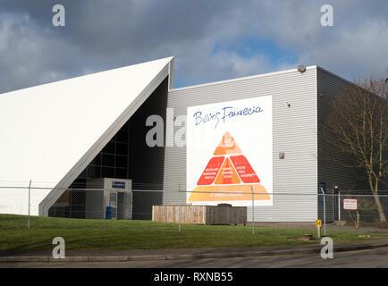 Faurecia - Washington Auto Component Plant,  north east England, UK - Stock Image