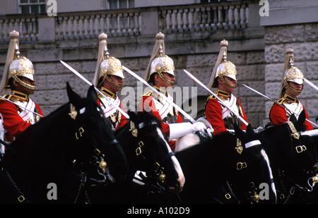 Horse Guards Parade London England - Stock Image