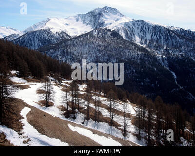 Near Abries, Parc regional de Queyras, France - Stock Image