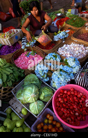 Ubud Markets, Bali - Stock Image