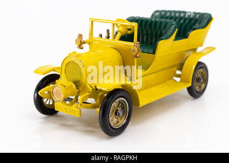 Matchbox Models of Yesteryear Y-6 Spyker Tourer 1904 - Stock Image
