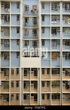 Example of high-rise apartments in Hong Kong - Stock Image
