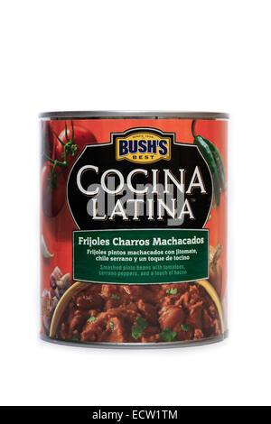 Bush's Best Cocina Latina Frijoles Charros Machacados - Stock Image