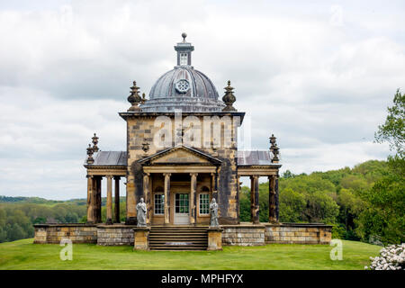 Temple of the Four Winds at Castle Howard Yorkshire UK - Stock Image