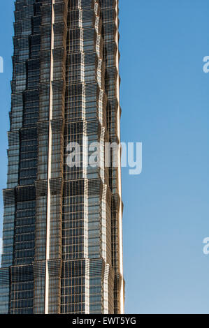Jin Mao Tower in Shanghai. - Stock Image