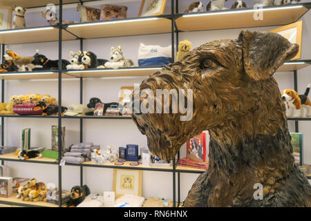 AKC Museum of the Dog, New York City, USA - Stock Image