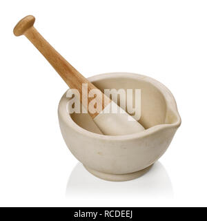 A pestle and mortar - Stock Image