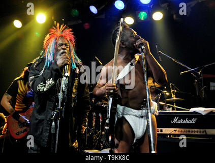 George Clinton and Garry Shider, from Parliament-Funkadelic - Stock Image