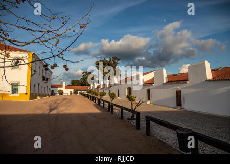 The former worker's quarters at the Torre de Palma Wine Hotel - Stock Image