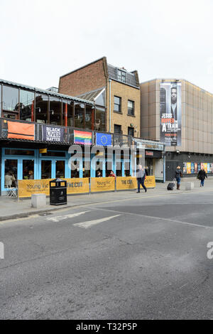 The Young Vic Theatre, The Cut, London, SE1, UK - Stock Image