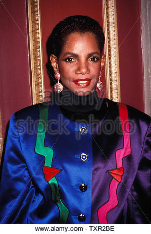 Melba Moore At The Gala To Honor America's Heroes Of 1991, Waldorf Astoria, New York City 10-28-1991 Credit: 3769290Globe Photos/MediaPunch - Stock Image