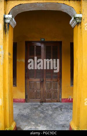 Door in Hoi An, Vietnam - Stock Image
