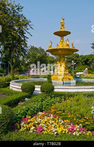 Saranrom Park, Phra Nakhom district, Bangkok, Thailand - Stock Image