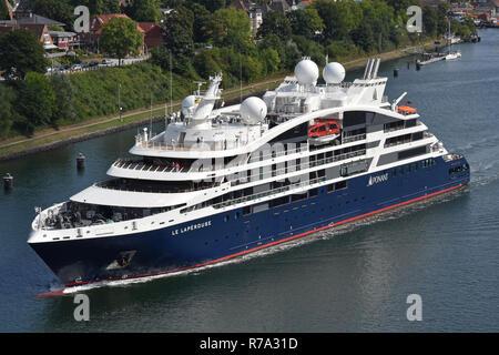 Cruiseship Le Laperouse - Stock Image