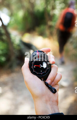 orientation,compass,cardinal point - Stock Image