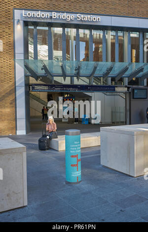 london bridge station - Stock Image