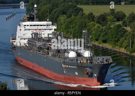 LPG Carrier Wilhelm Schulte - Stock Image