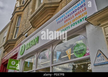 oxfam in oxford - Stock Image
